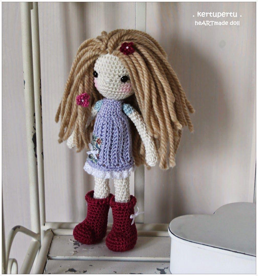 kertupertu. crochet. doll. amigurumi   Inspirationsschrank Häkeln ...