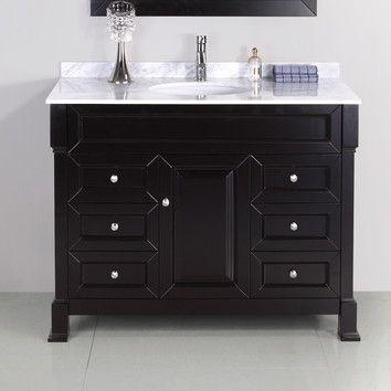 Virtu Hunter 42 5 Bathroom Vanity Set Wayfair Com 1300 Bathroom Vanity Vanity Bathroom