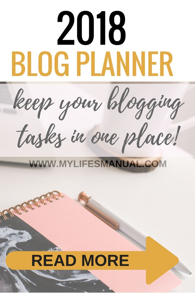 The Ultimate Blog Planner for your strategies and blogging