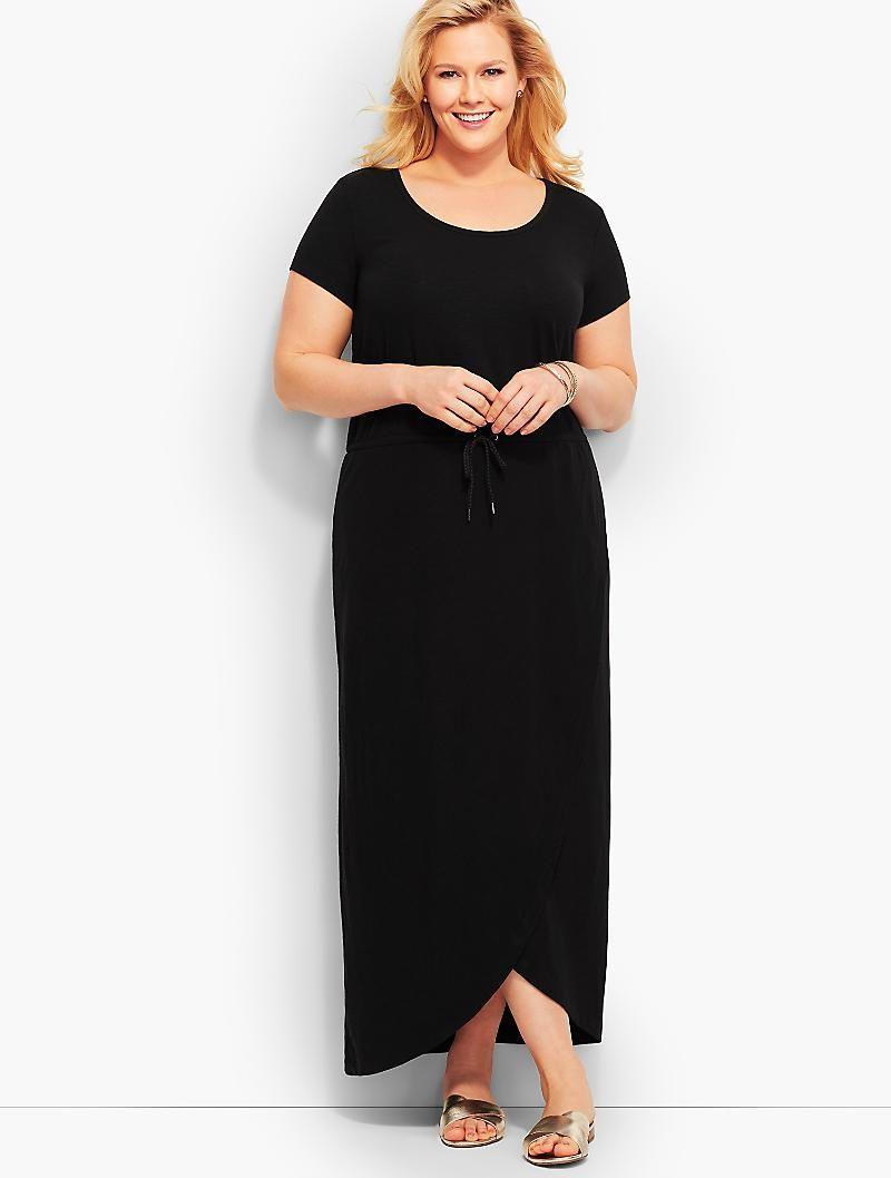 Tulip Wrap Maxi Dress Talbots Clothes For Women Maxi Wrap Dress Maxi Dress [ 1057 x 800 Pixel ]