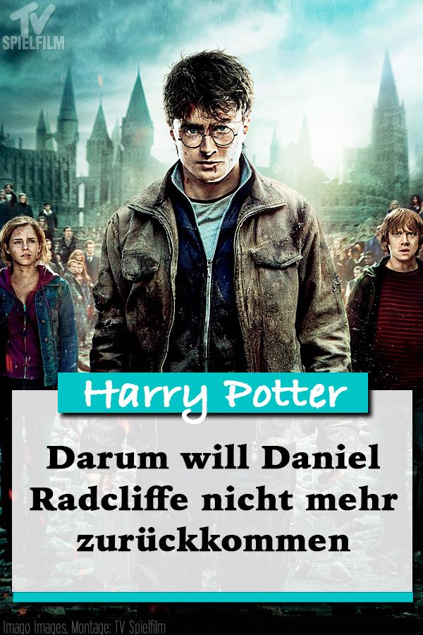 Darum Wird Daniel Radcliffe Nicht Mehr Harry Potter Spielen Daniel Radcliffe Tv Spielfilm Filme