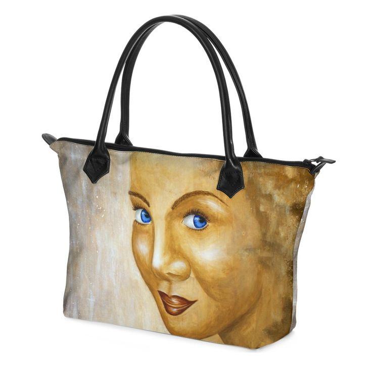 0a4205875d4ce Die bezaubernde  Shopper  Tasche ist praktisch für jeden Tag. Das  wunderbare  Satin
