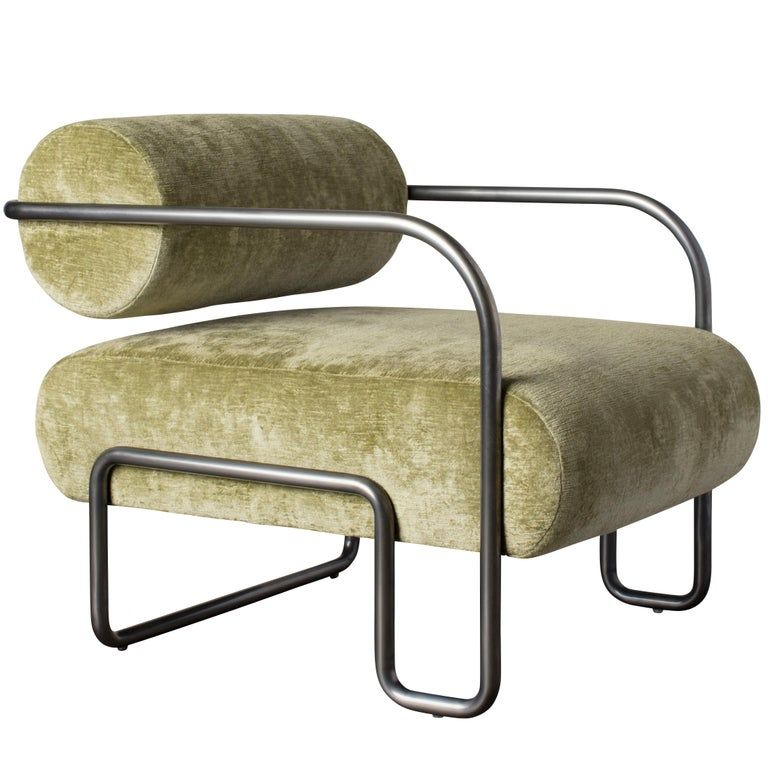 Ardent Club Chair in Como by Kelly Wearstler