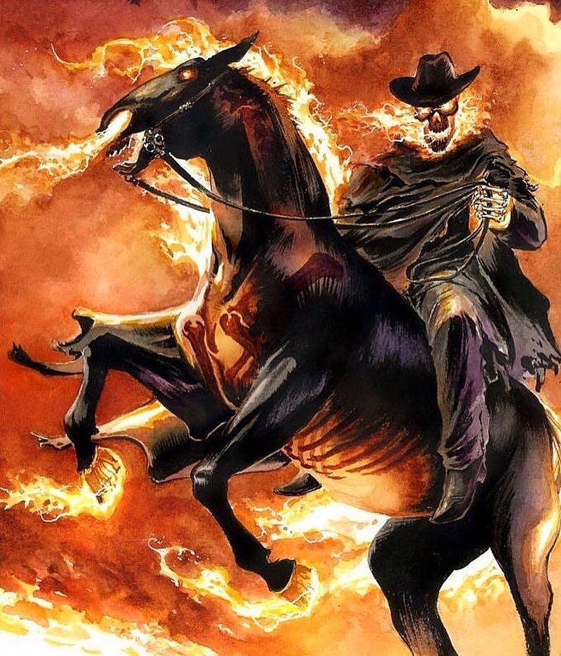 Do you guys like this version of Ghost Rider (Carter Slade