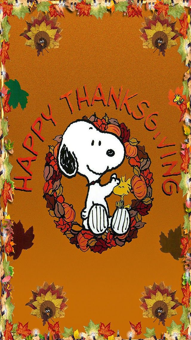 Snoopy on thanksgiving Snoopy wallpaper, Thanksgiving