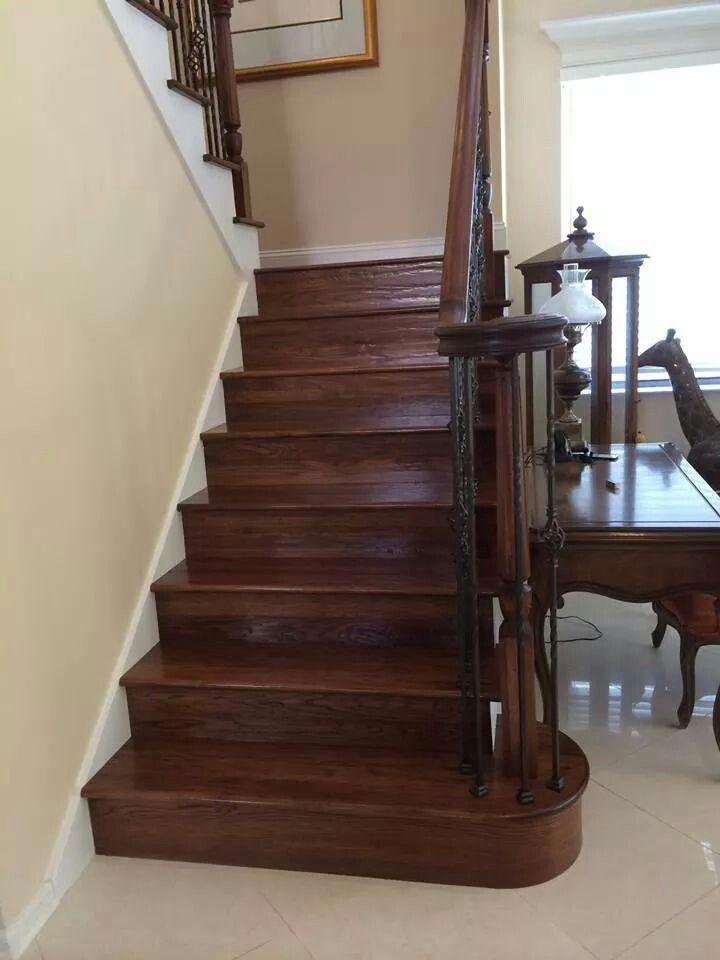 Best Beautiful Wood And Balance Hardwood Stair Treads 400 x 300