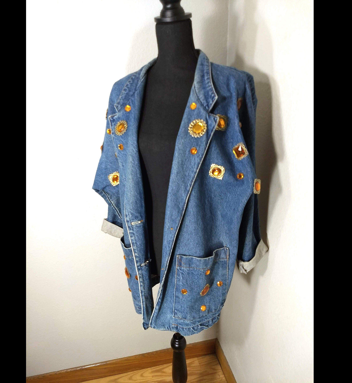 d956ed89366ba 80 s SUNBELT Denim Jacket
