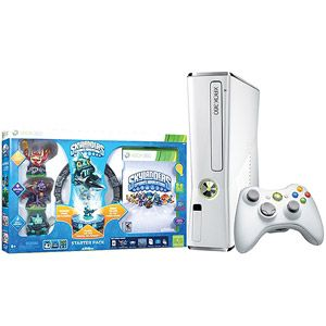 Xbox 360 4GB Console w/ Skylanders Starter Kit and Exclusive Gill Grunt Character
