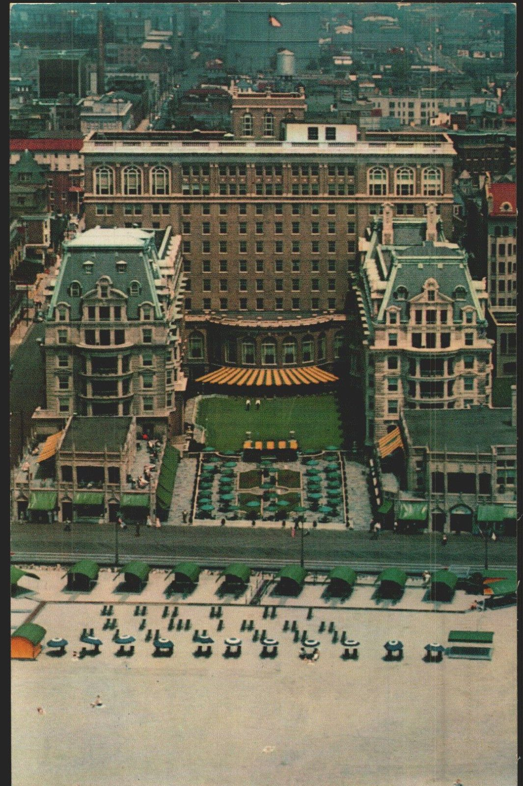 Vtg Pc The Terrace Hotel Dennis Atlantic City Nj Best East Coast Beaches Terrace Hotel Atlantic City