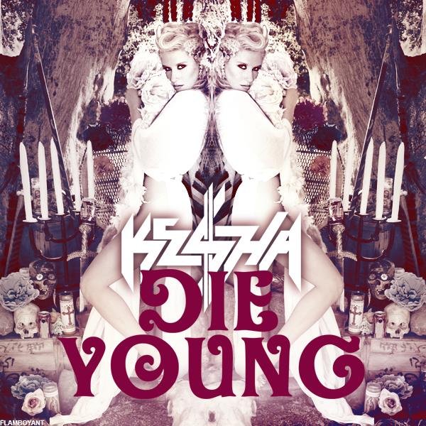 Kesha – Die Young (single cover art)