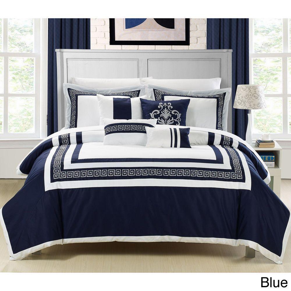 Venice 7-piece Cotton Comforter Set in 2019 | Master ...