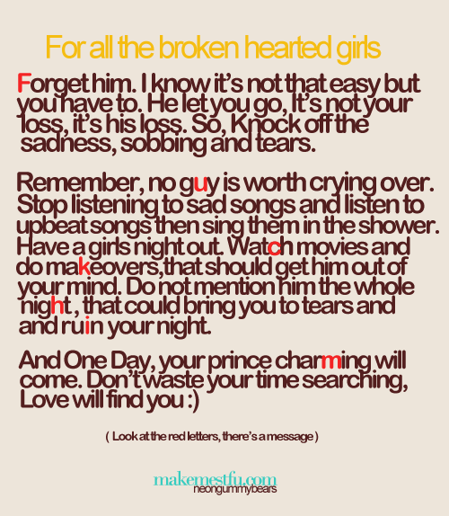To Broken Hearted Girls Quotes Heart Quotes Broken Heart Quotes