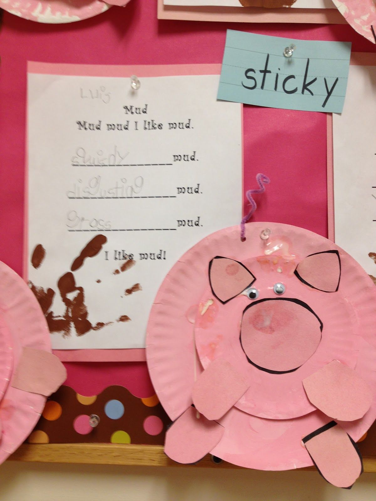 K Is For Kindergarten Love These Pigs Made From Paper