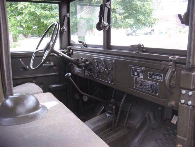 Beauty interior restoration on this Dodge M37 | Car interiors