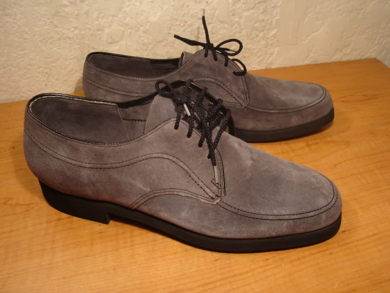 1980s Vintage Hush Puppies Suede Saddle Shoes 10 5 New Old Stock Saddle Shoes Hush Puppies 1980s Shoes