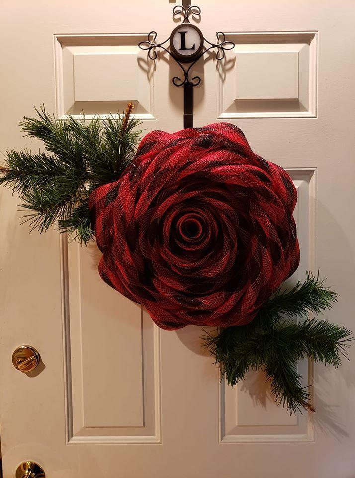 Photo of DIY EASY Winter Wreath for Front Door!