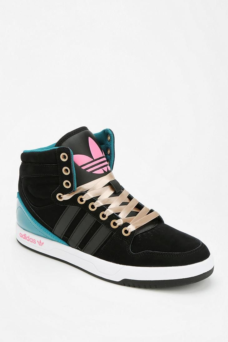 huge selection of cf2a1 b8eaf adidas Court Attitude High-Top Sneaker