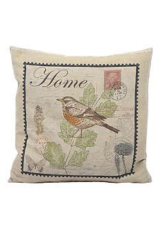 Newport Throw Pillows Birds : Newport Home Bird Pillow Home Sweet Home Pinterest Newport and Pillows