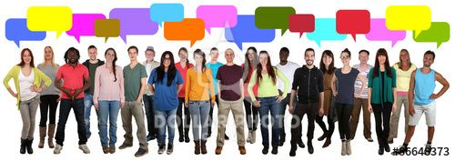 https://es.dollarphotoclub.com/stock-photo/Lachen multikulturell People Gruppe junge Leute reden mit Sprech/86648373 Dollar Photo Club millones de imágenes de archivo a 1$ cada una