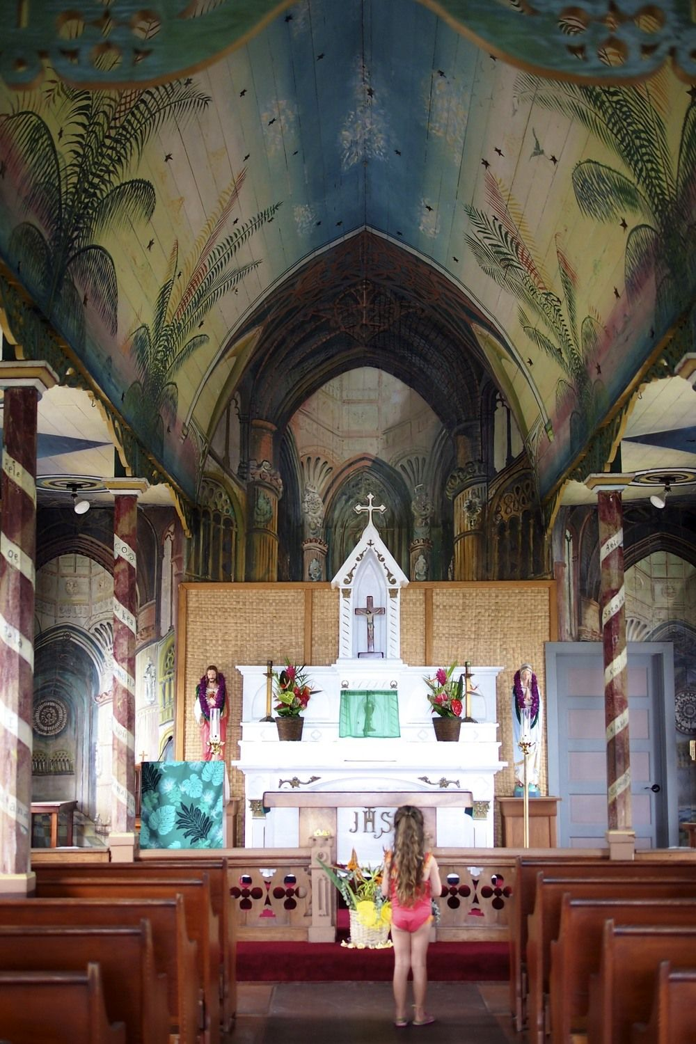 The Painted Church.
