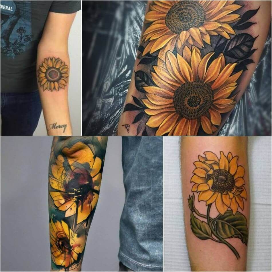 Sunflower Tattoo Meaning - Popular Sunflower Tattoo Ideas for Women and Men | Sunflower tattoo meaning, Sunflower tattoo small, Sunflower tattoo