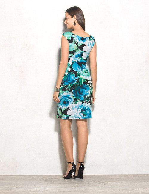 db Signature™ Petite Sadie Floral Dress | dressbarn