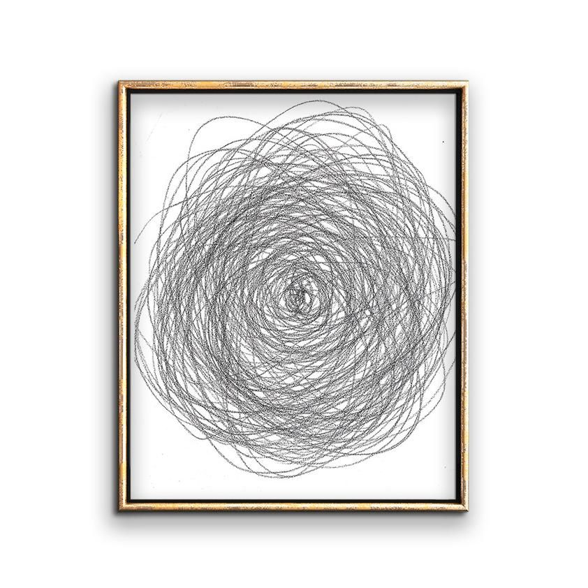 Modern wall art printable drawing of a flower this modern black and white minimalist sketch will look great in a gallery wall of framed neutral artwork