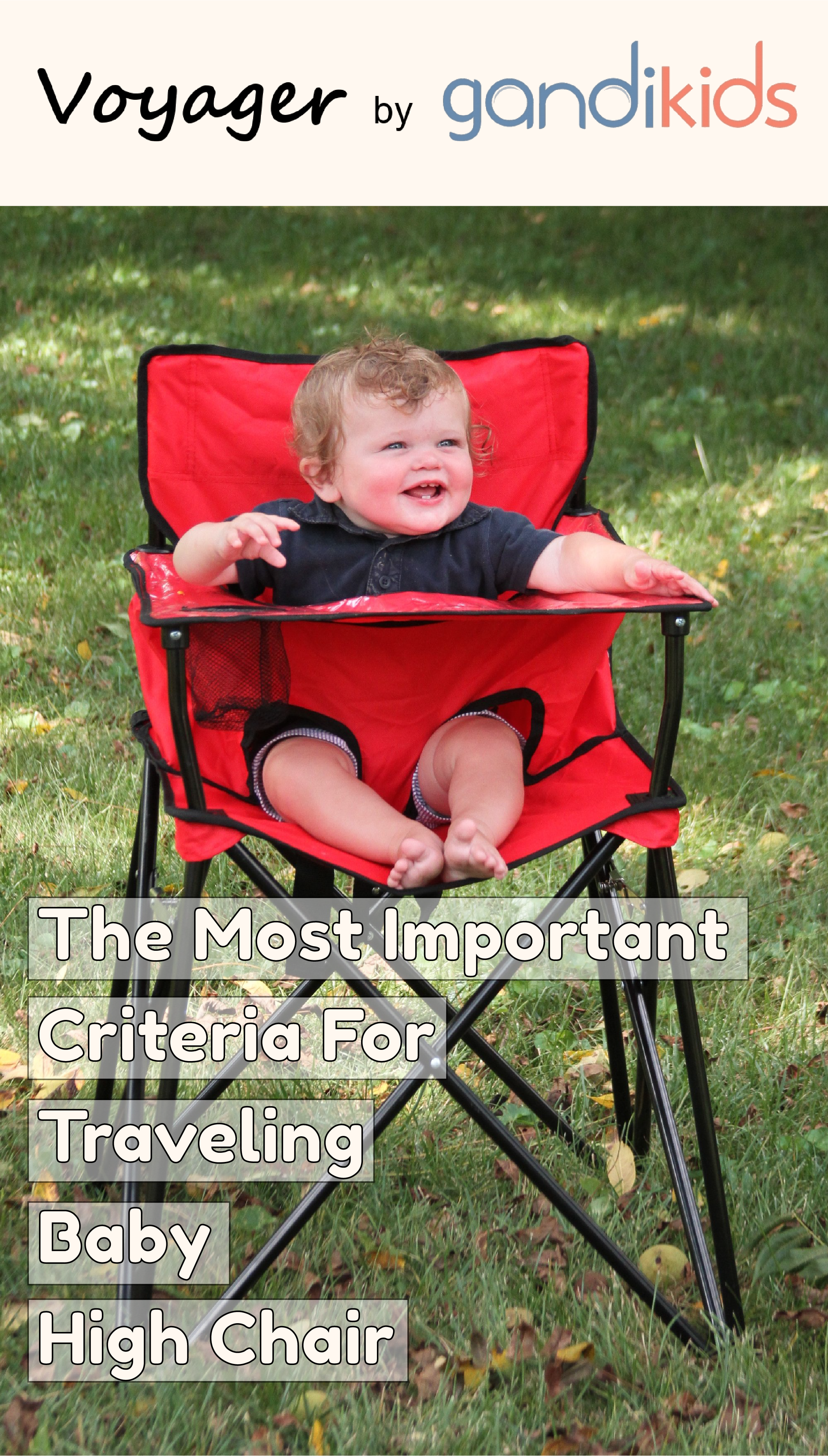 Photo of The most important criteria for traveling baby high chair