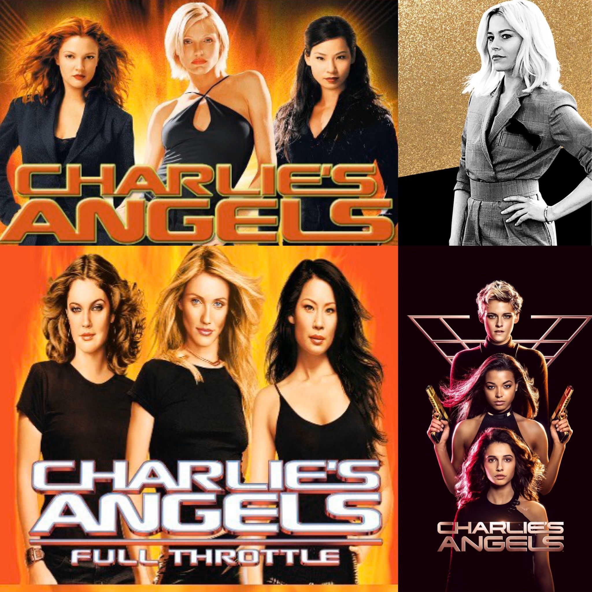 Charlies Angels Film Evolution | Charlies angels, Charlie, Film