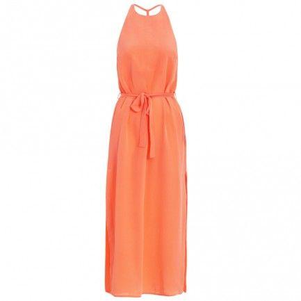 Silk T-Bar Dress