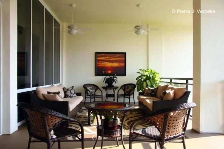 WHITEHALL - One of two cozy Outdoor Seating Areas facing ...