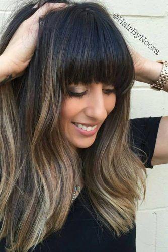 Cute Medium Length Hairstyles 24 Cute Medium Length Hairstyles With Bangs  Medium Length