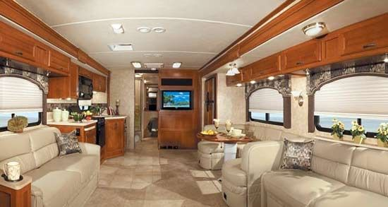 Marvelous Motor Home Interior Design