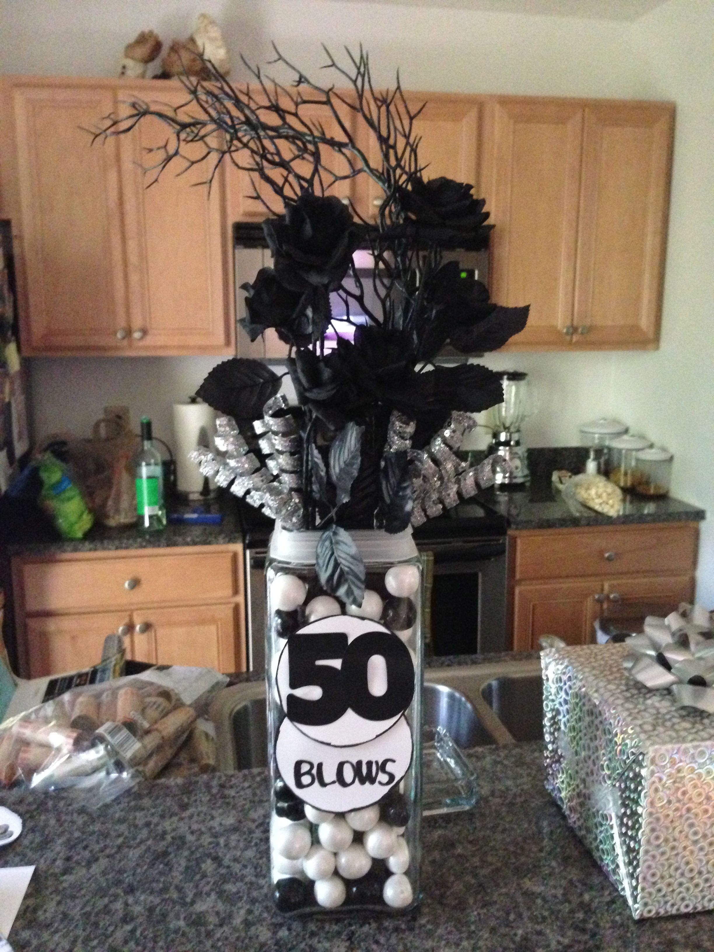50th birthday party themes for men Via Marianna Montoya Watson