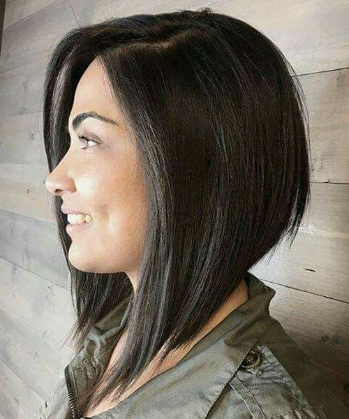 24 Pretty Angled Bob Hairstyles You'll Want to Cop