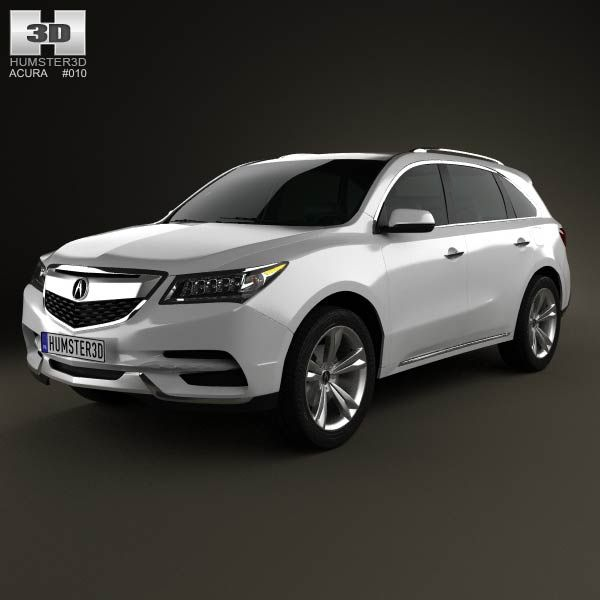 Acura MDX 2014 3d Model From Humster3d.com. Price: $75