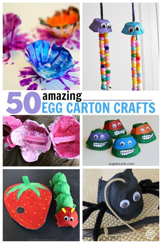 50 Amazing Egg Carton Crafts Egg Carton Crafts Crafts Craft