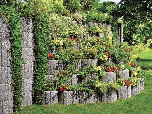 Gestalten Sie Ihren Garten Mit Pflanzsteinen Pflanzen Garten Garten Gestalten