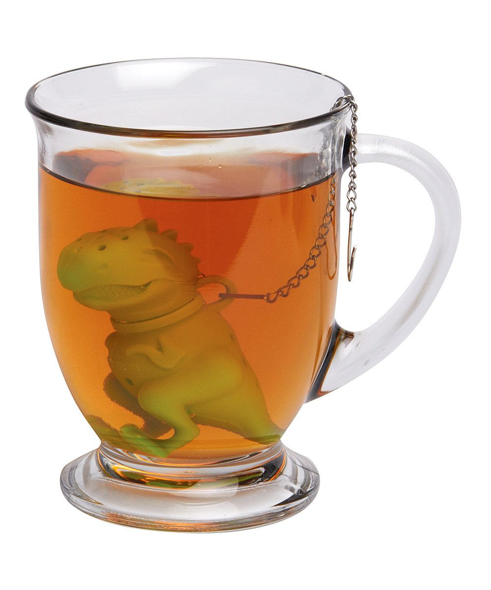 Green Tea Rex Tea Infuser