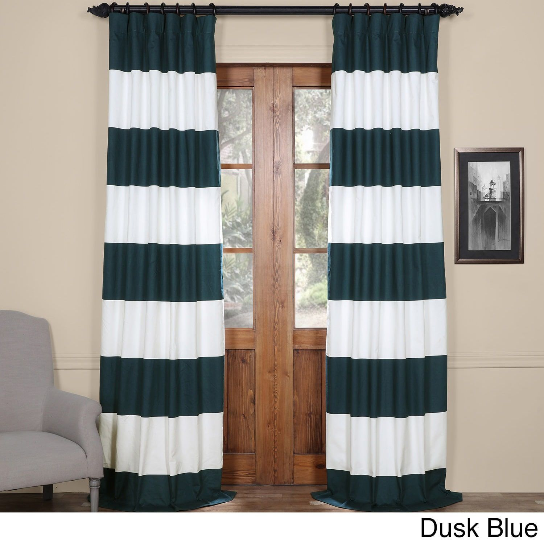 Horizontal Stripe Curtain