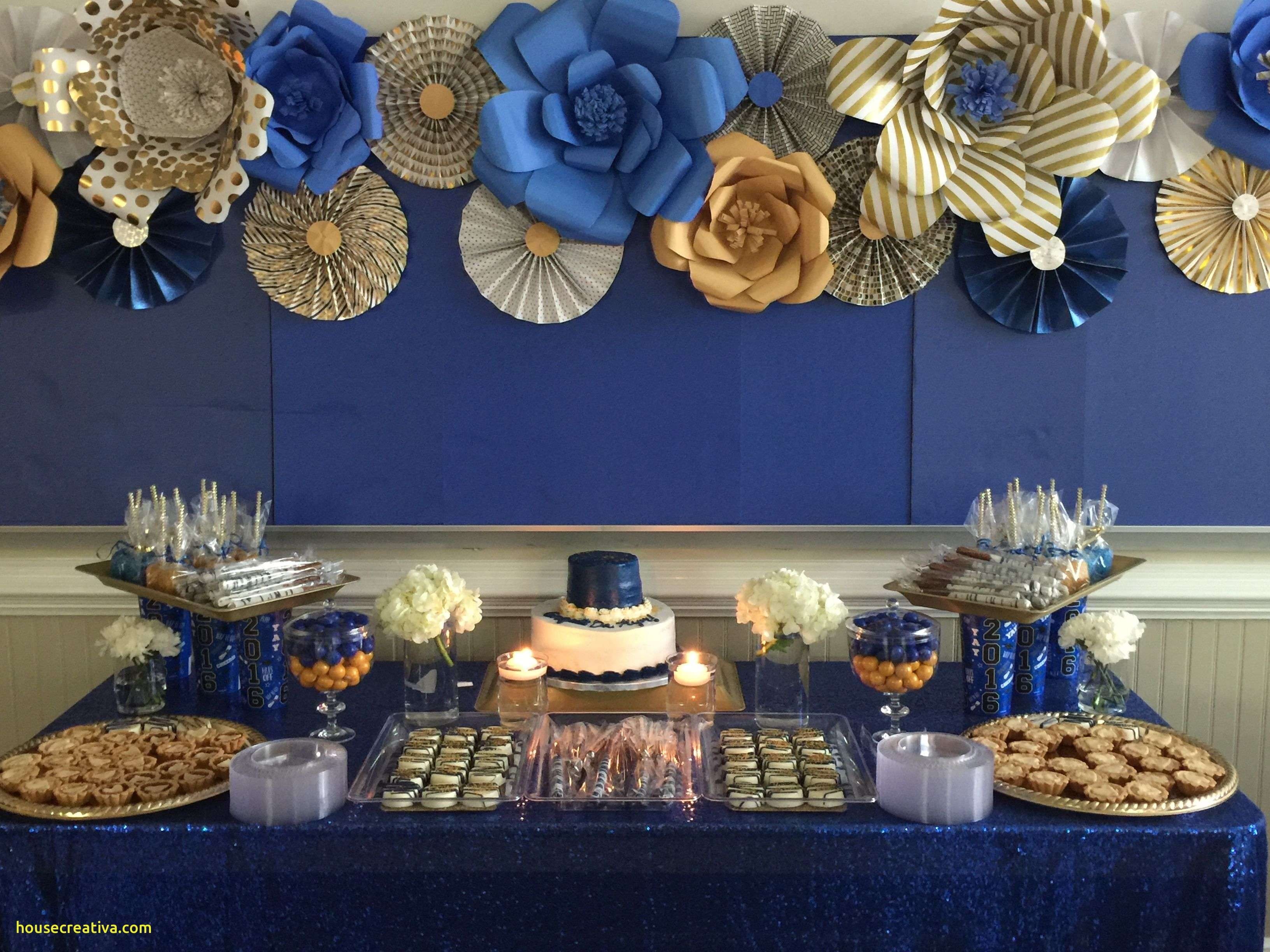 Best Of Royal Blue Silver And White Wedding Decorations