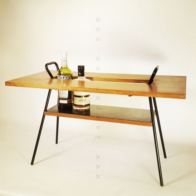Charming bar / coffee  table from the 1950's-1960's.