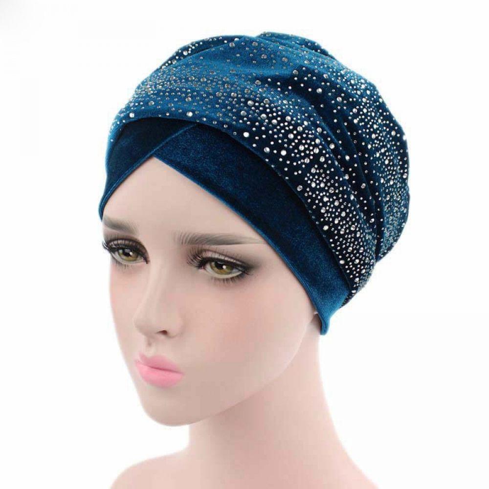 5b720c358df Rhinestone Velvet Headband Muslim   Price   21.12   FREE Shipping      haircut  hairsaleshop