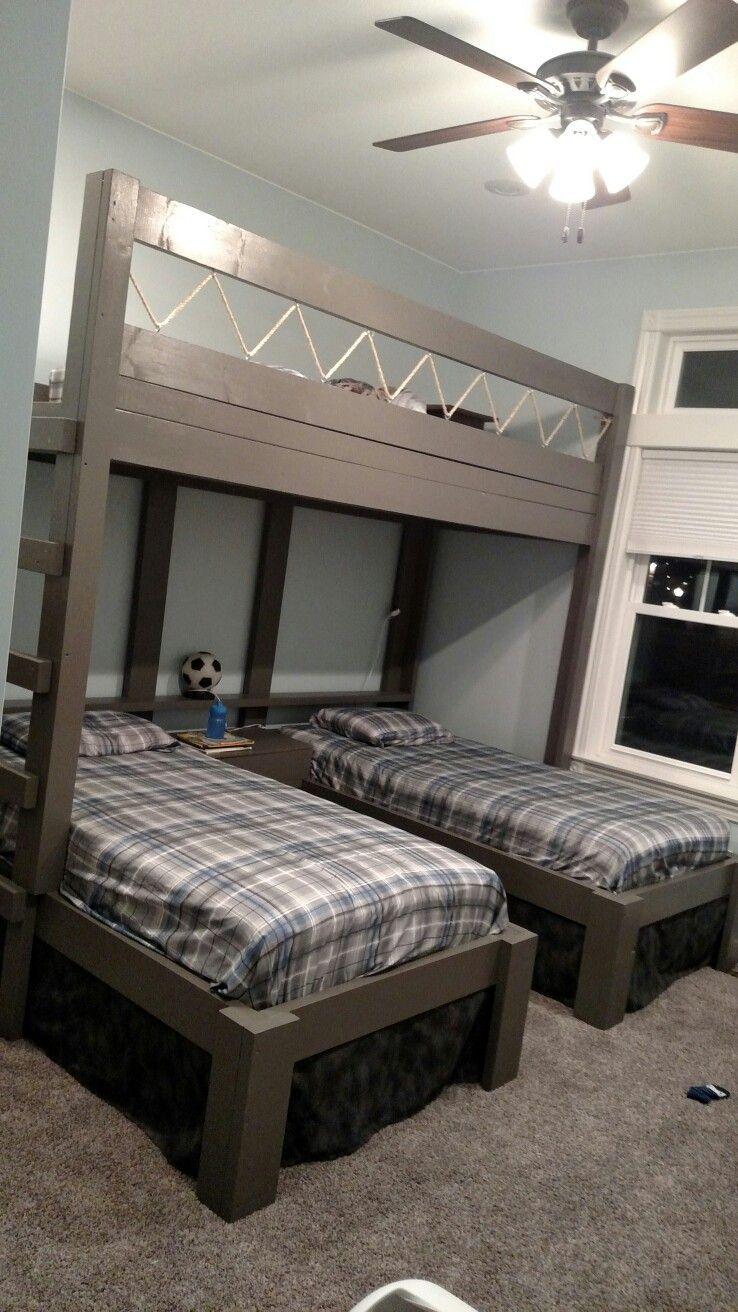 Teenage girl loft bed ideas  Triple bunk beds for boys  Decor ideas for a teen girl bedroom