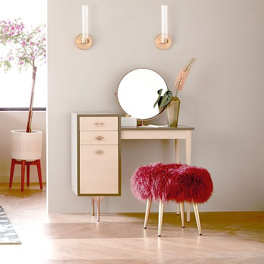 Greta Vanity Mirror West Elm My New Favorite Piece