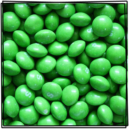 Lime Original Skittles, they just introduced Green Apple