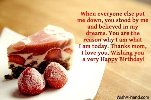 When everyone else put me birthday wishes pinterest mom birthdays m4hsunfo Images