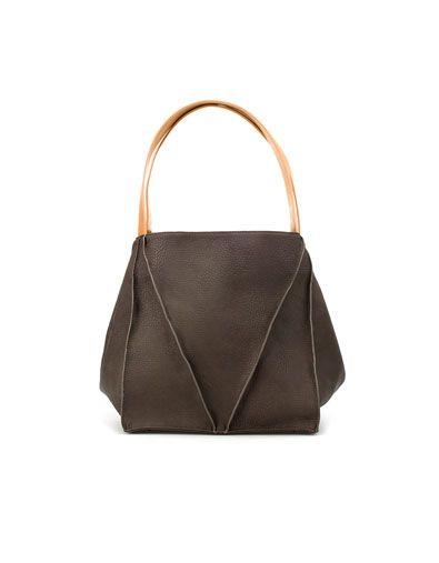 8c383f8c0 SACA GEOMÉTRICA - Bolsos - Mujer - Shoes - ZARA España | Bags <3 ...