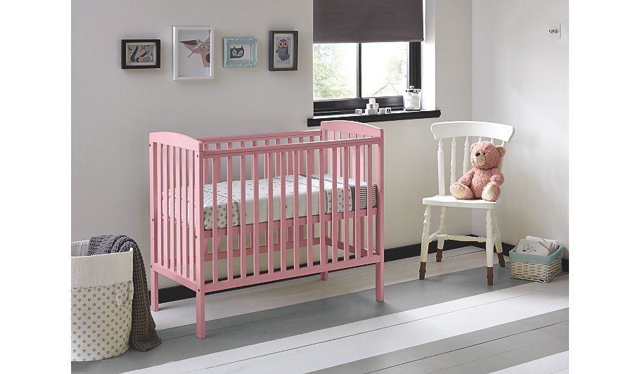 Buy Kinder Valley Kai Compact Cot - Dusky Pink From Our Nursery Furniture  Range Today R