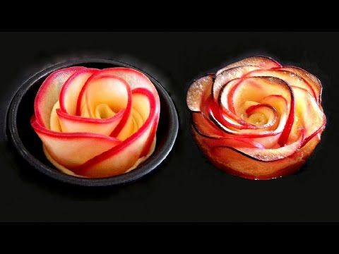 ROSE APPLE CUSTARD TART RECIPE by Ann Reardon How To Cook That ROSE DESSERT